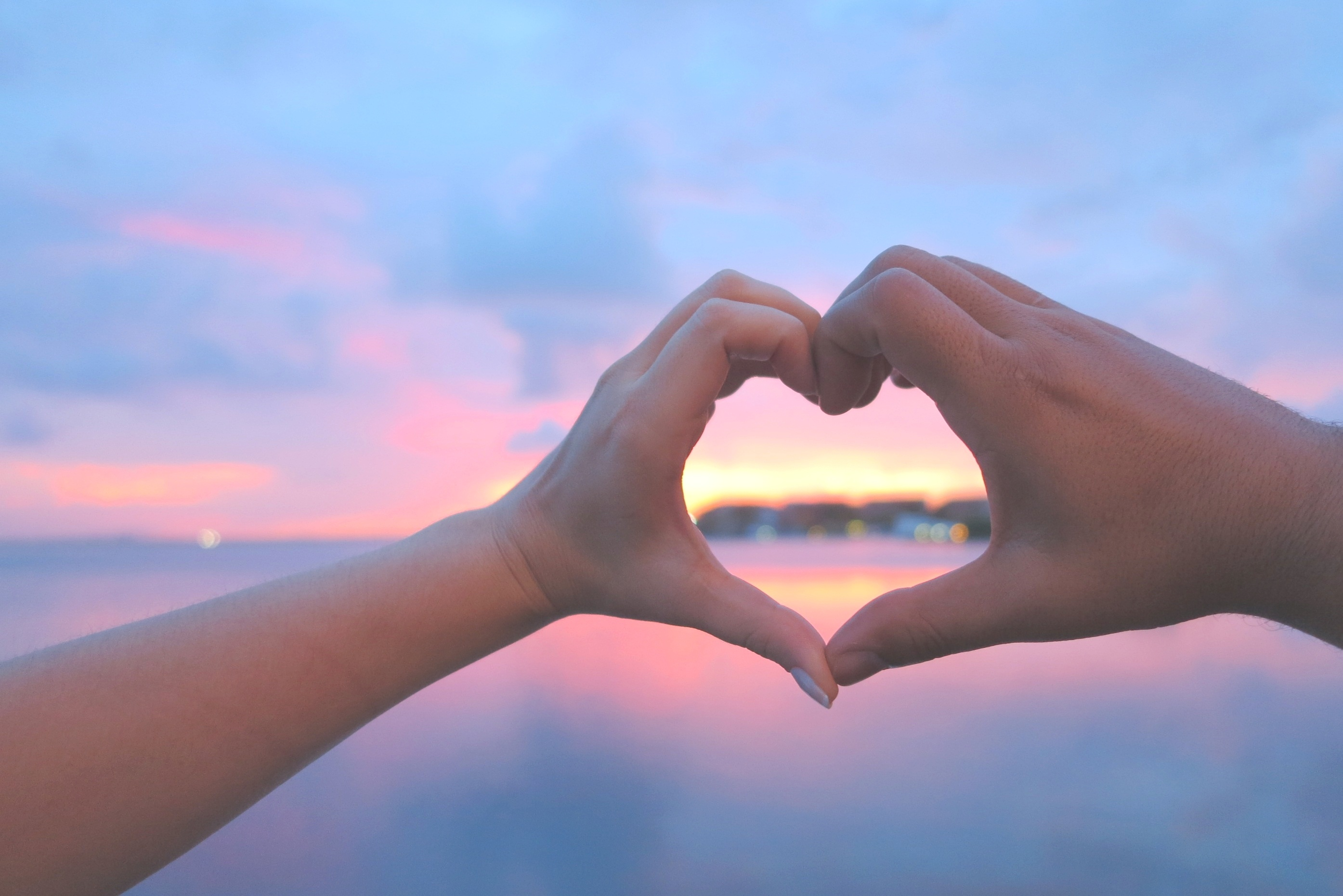 Uncategorized Hands In A Heart heart shape hands sunset websites with a download